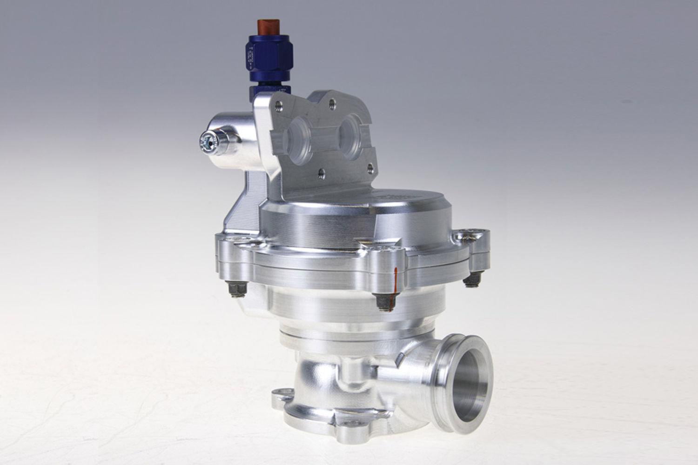 Anti-lag valve