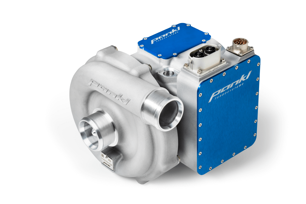 Fuel Cell Air Supply System: Integrated Inverter